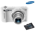 Samsung White Smart WiFi Camera with 8GB Micro SD
