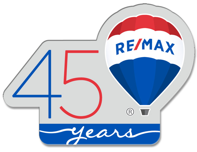 RE/MAX 45th Annversary Pin