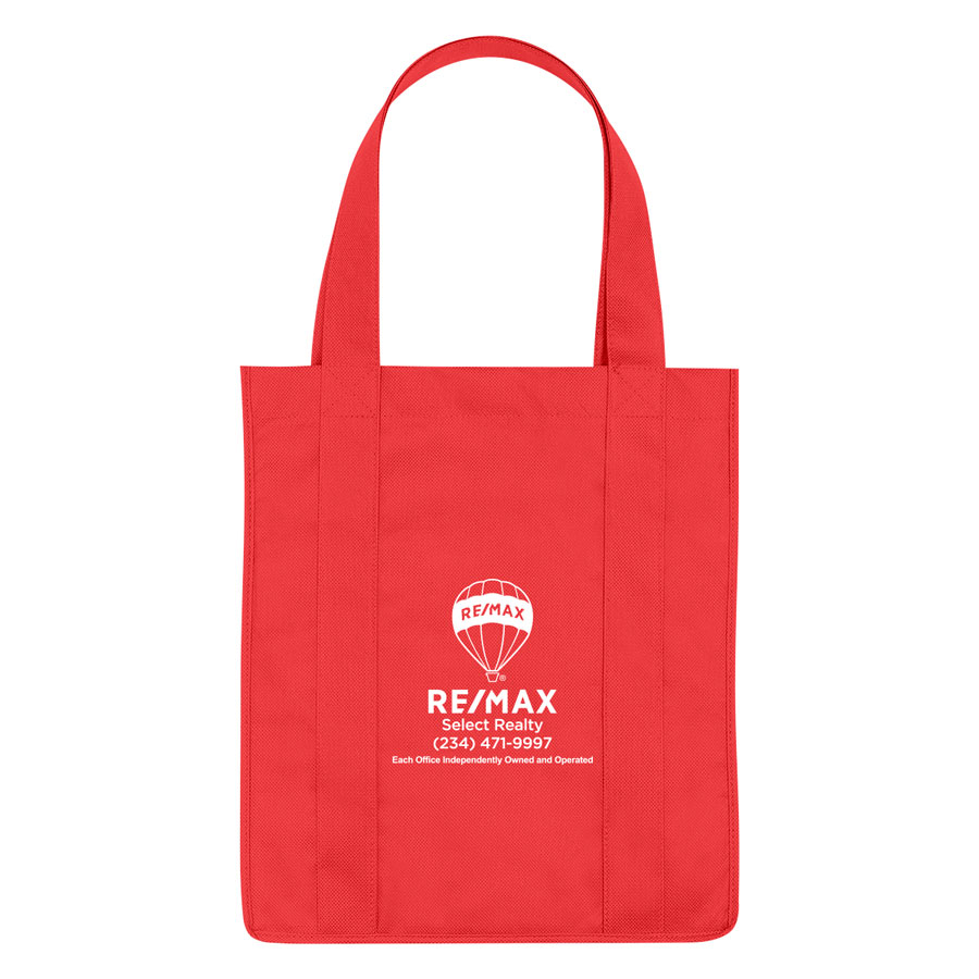 Non-Woven Shopper Tote Bag - Personalized