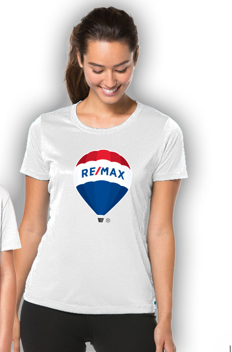 RE/MAX Balloon Ladies' T-Shirt - White