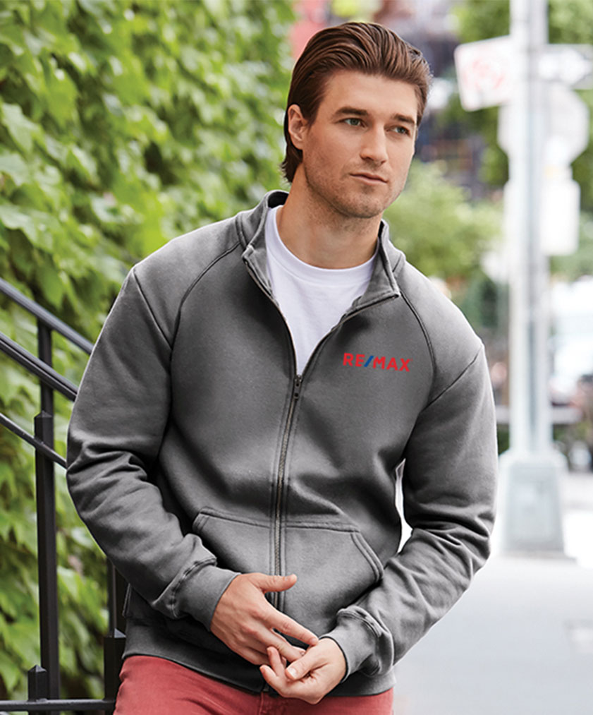 Premium Cotton Ring Spun Fleece Full Zip