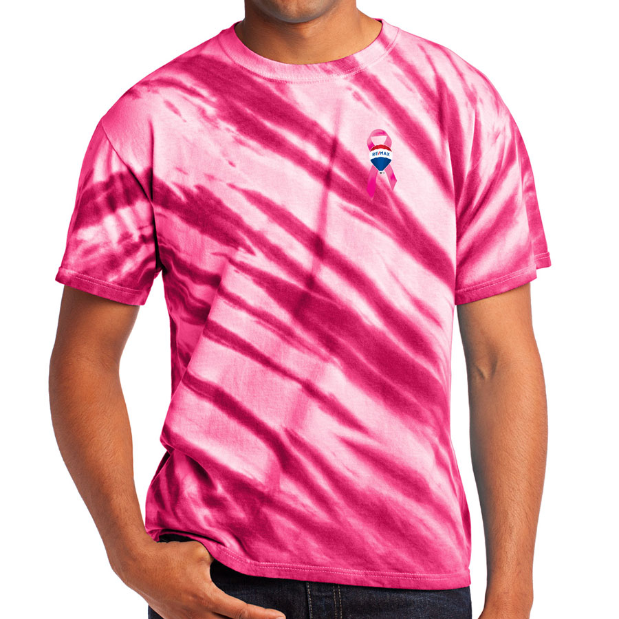 Tiger Stripe Tie-Dye Tee  - Awareness