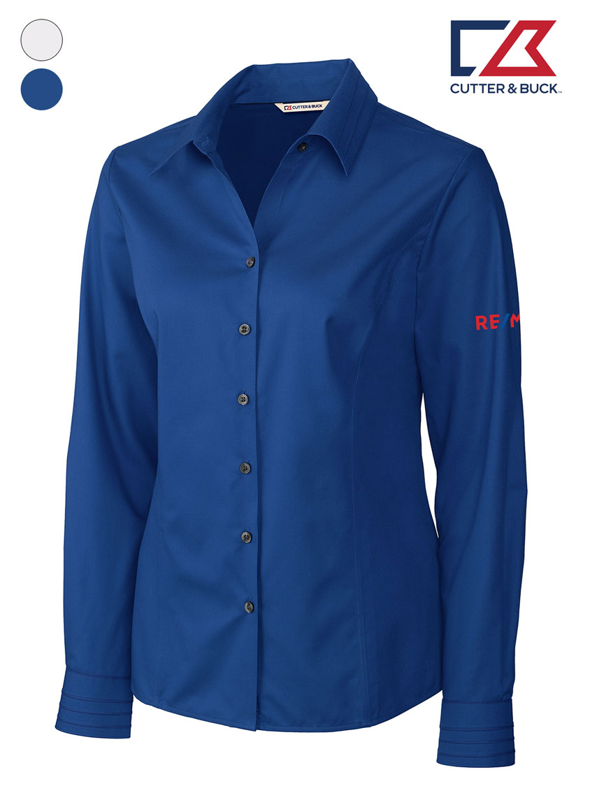 Cutter & Buck Ladies' L/S Epic Easy Care Fine Twill