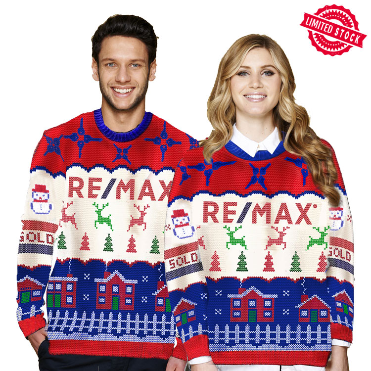 The RE/MAX Ugly Holiday Sweater