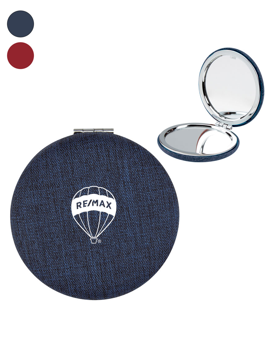 Arden Heathered Executive Compact Mirror