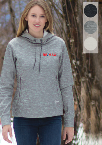 DRYFRAME® DRY TECH FLEECE LADIES' PULLOVER HOOD