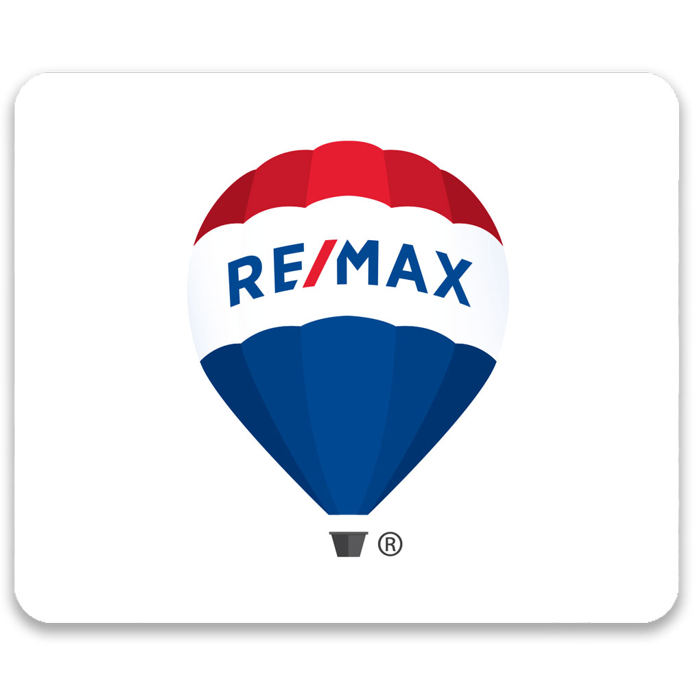 Econo Rectangle Mouse Pad - Balloon