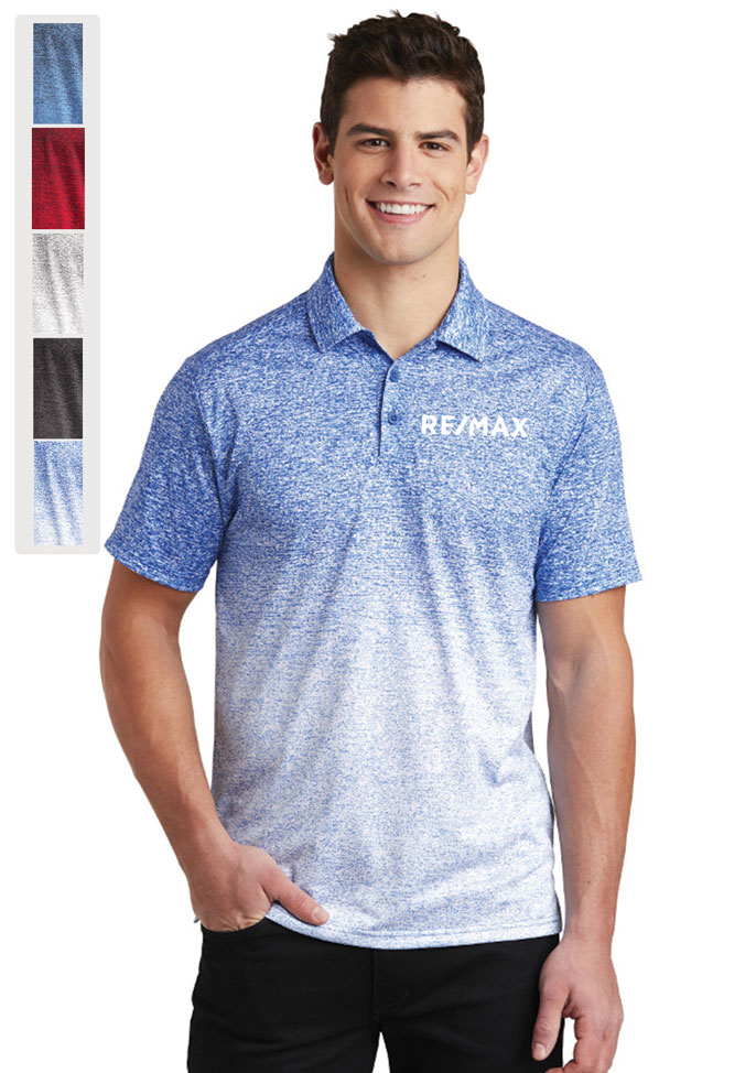 Sport-Tek® Ombre Heather Polo