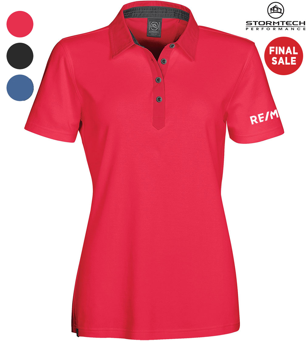 STORMTECH Women's Safari Pima Cotton Polo - FINAL SALE
