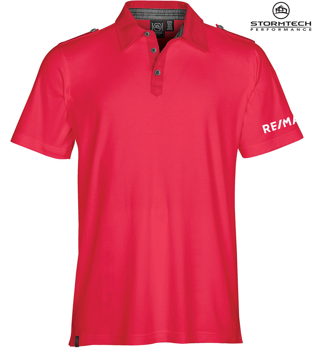 STORMTECH Men's Safari Pima Cotton Polo