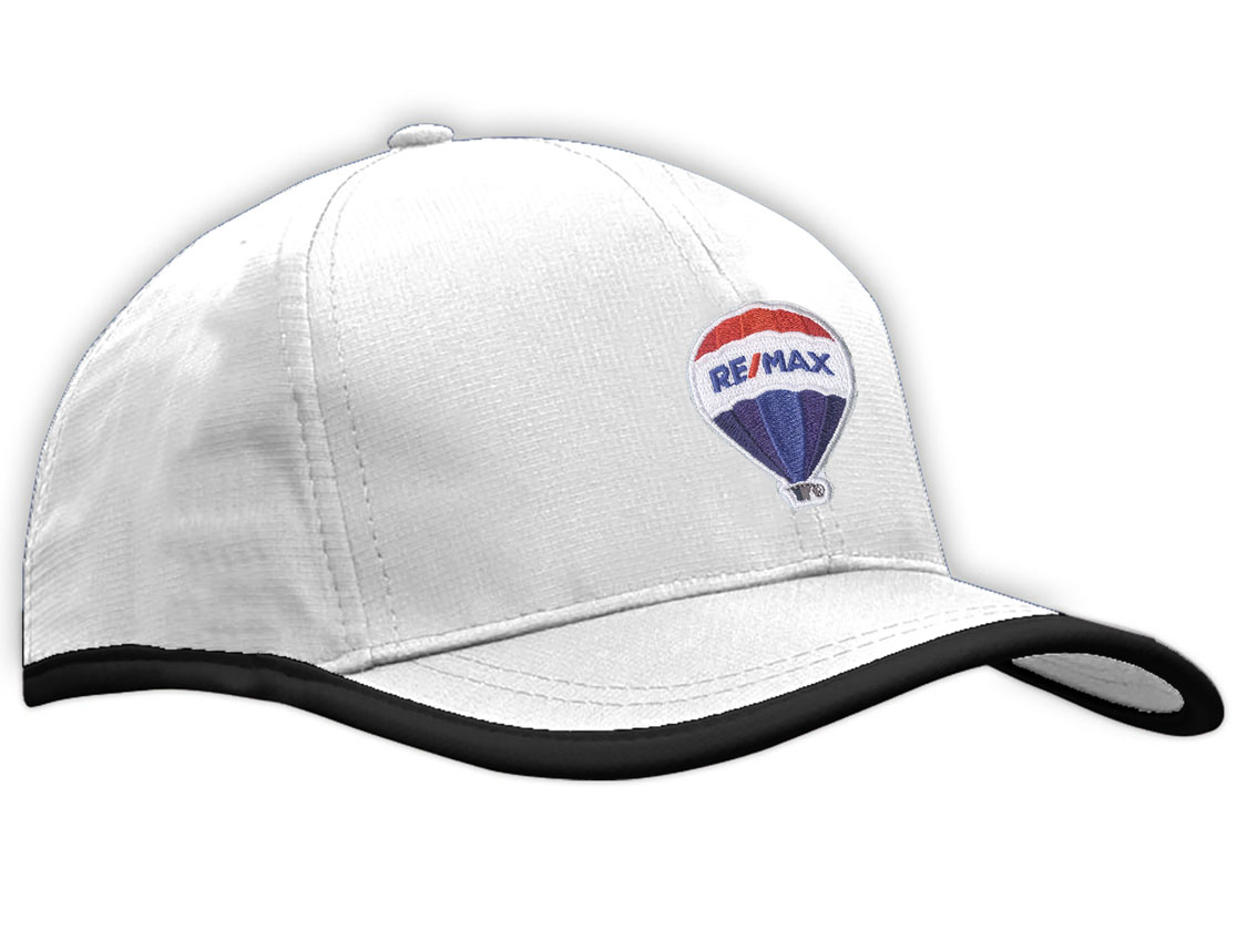 Sports Ripstop with Terry Cloth Lining Cap - RE/MAX BALLOON PATCH