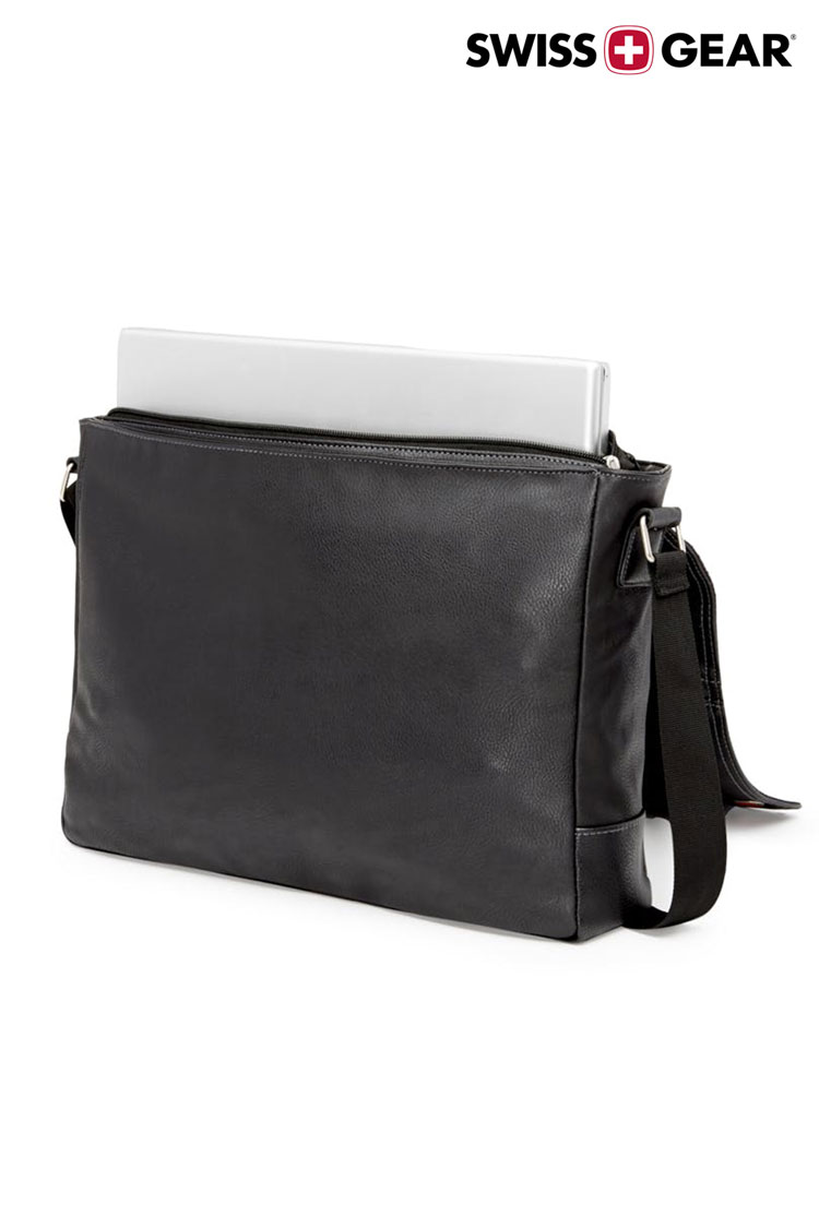 Swissgear 5115 Faux Leather 15 Inch Laptop Messenger Bag