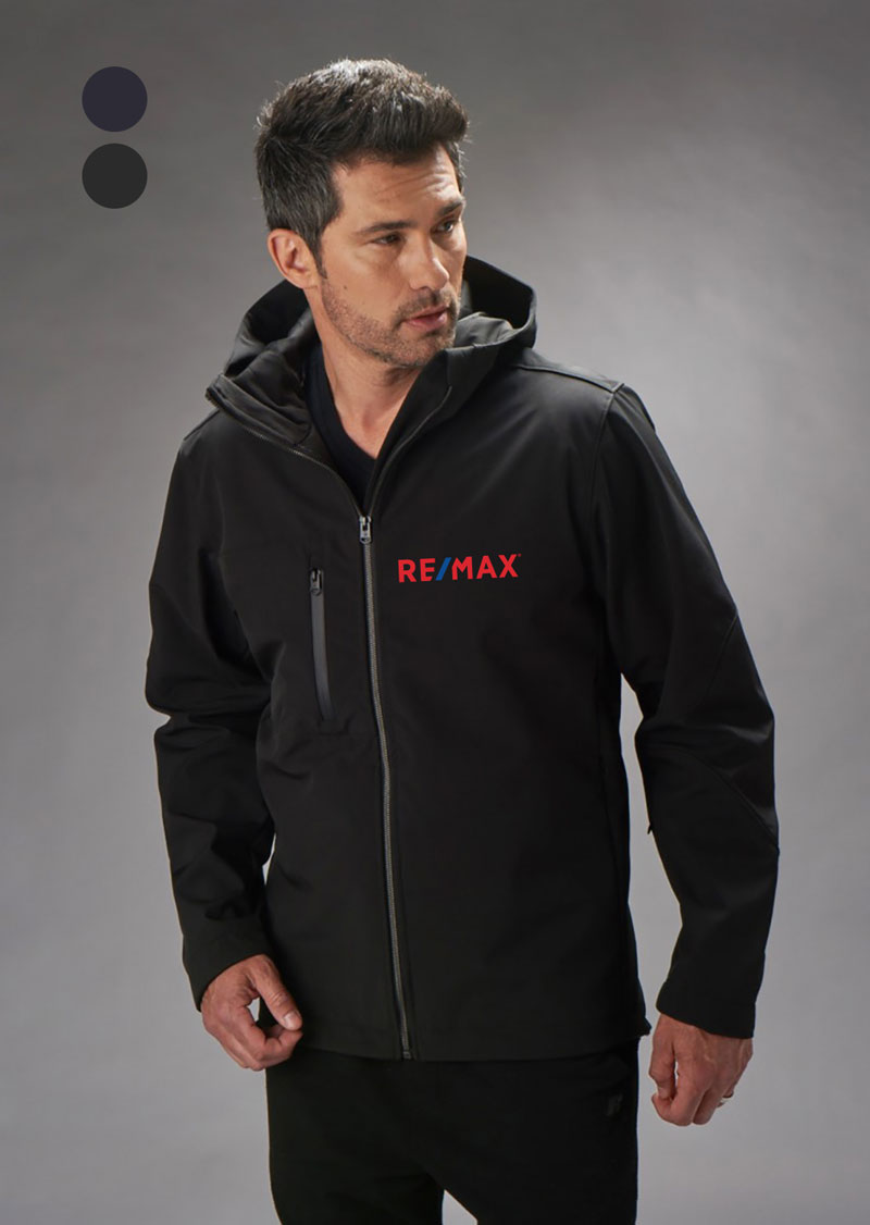 New Premium Collection Men's Hooded Urban Soft-Shell Jacket