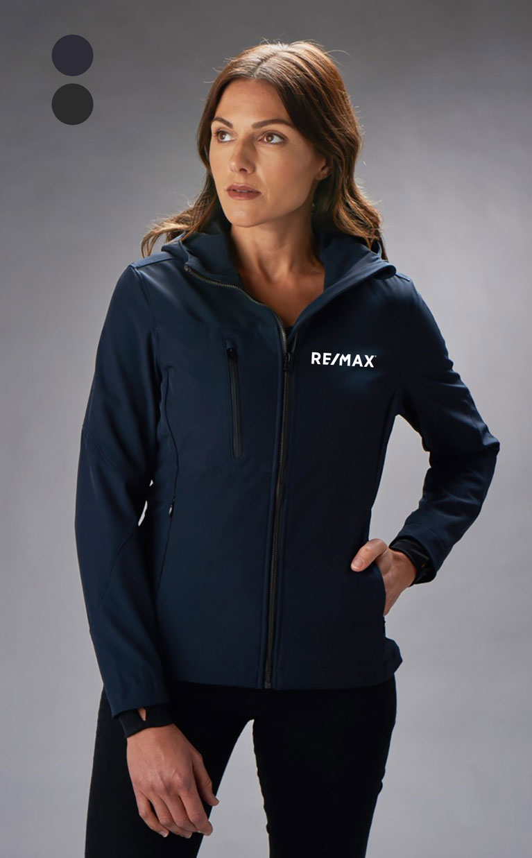 New Premium Collection Ladies' Hooded Urban Soft-Shell Jacket