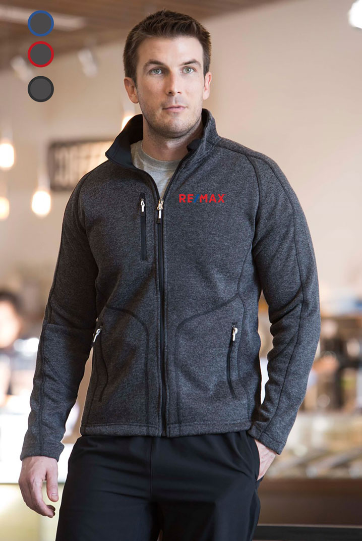 New Premium Collection Men's Slim Bonded Fleece  Jacket
