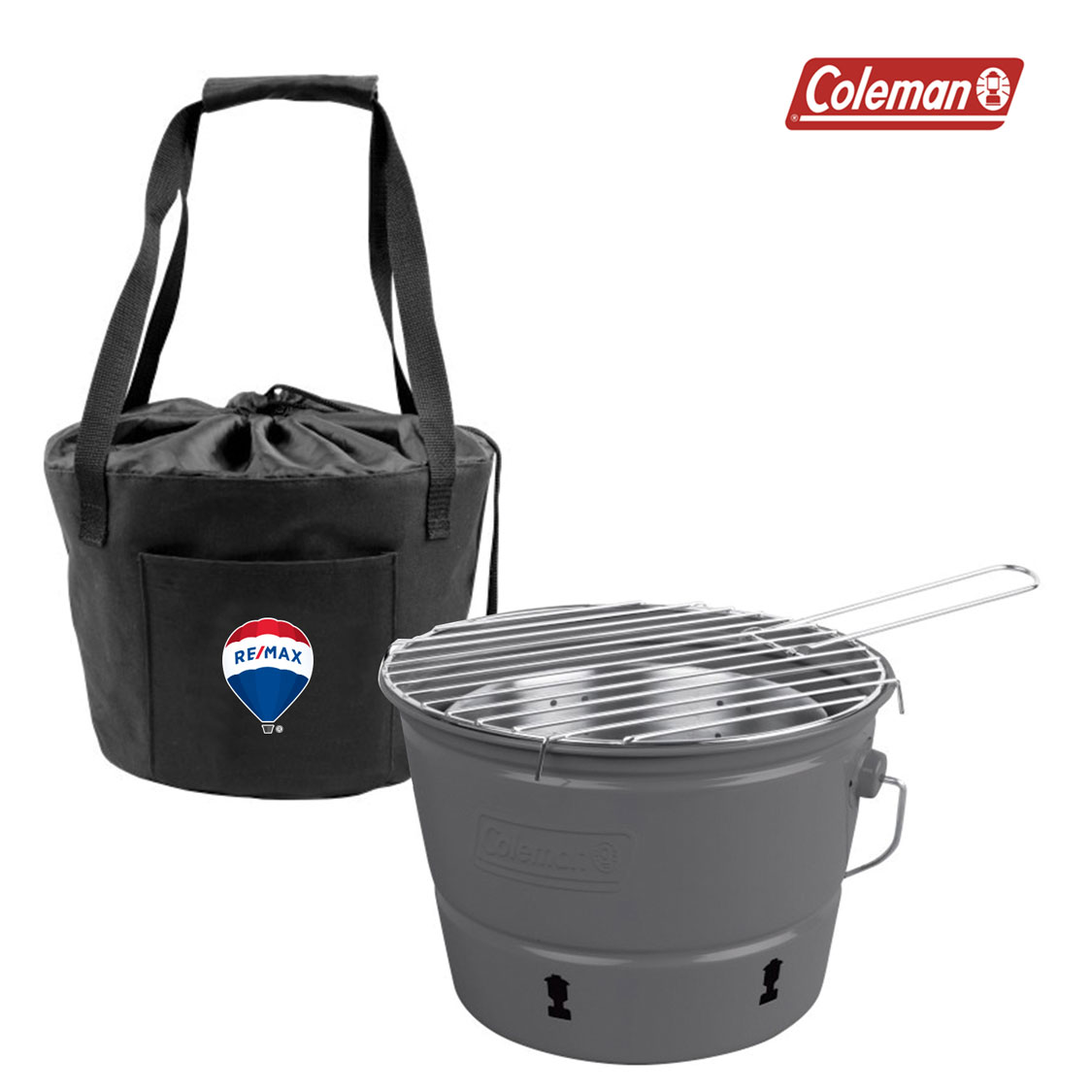Coleman® PARTY PAIL™CHARCOAL GRILL WITH CARRYING CASE