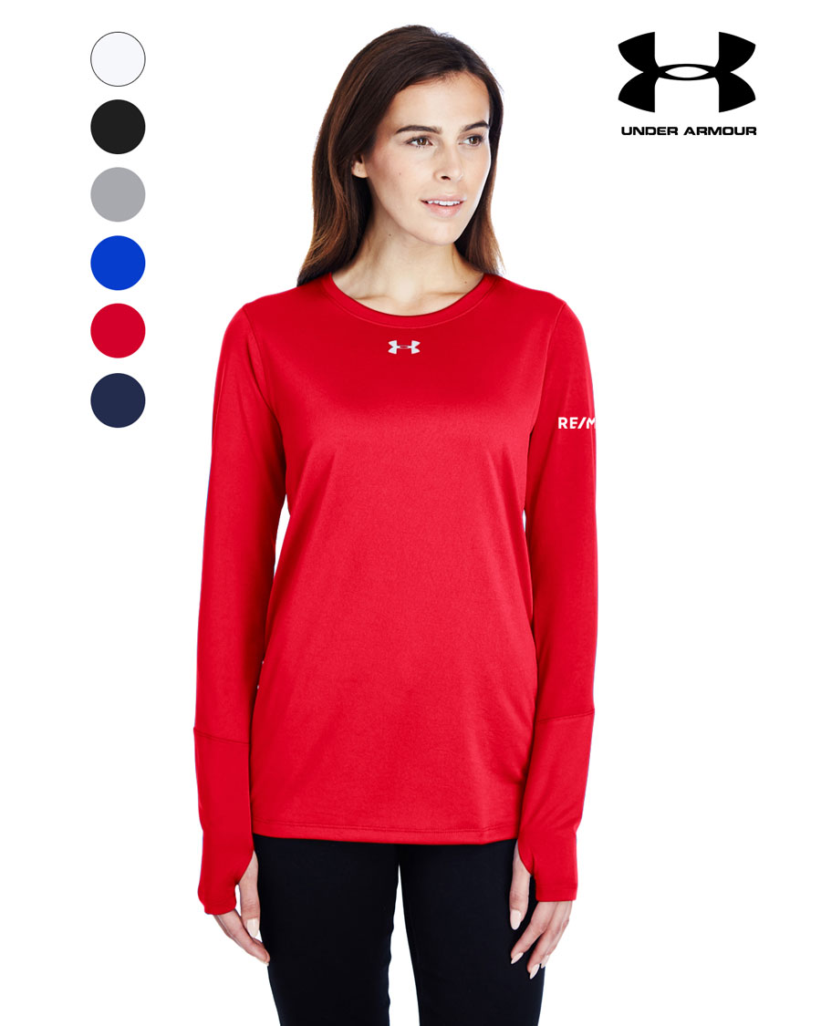 Under Armour Ladies' Long-Sleeve Locker T-Shirt 2.0
