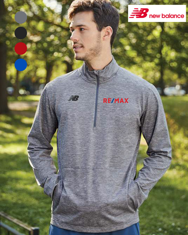 NEW BALANCE THERMAL HALF-ZIP