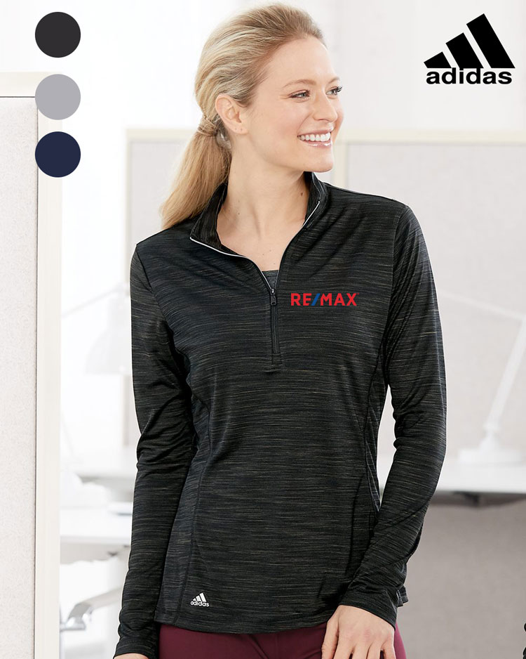 Adidas Women's Lightweight Mock 1/4 Zip