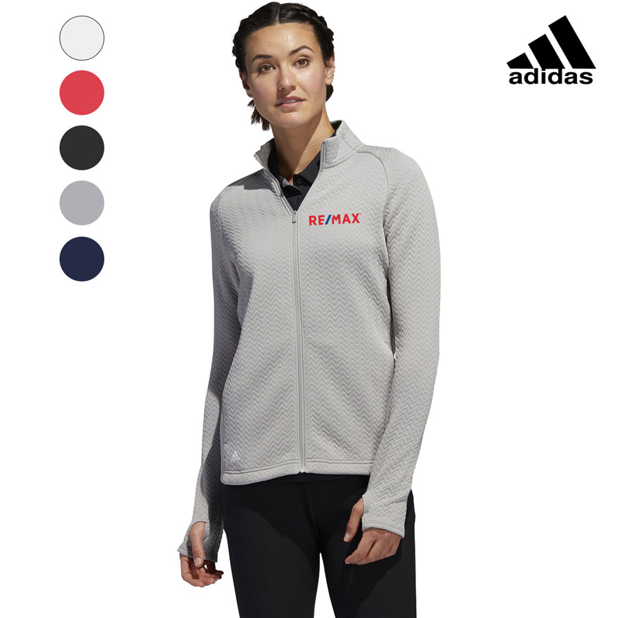 Adidas Women's Texture Full Zip Layer