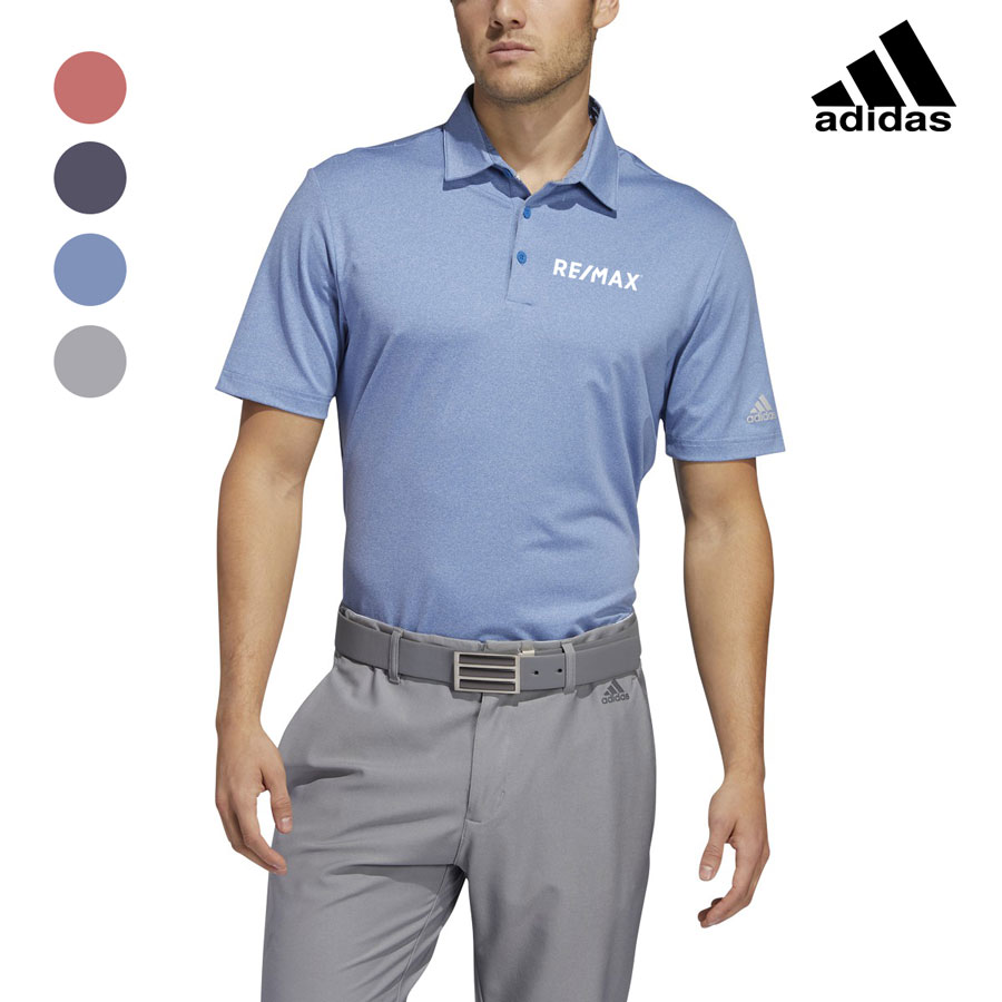 Adidas Men's Ultimate365 Heather Polo