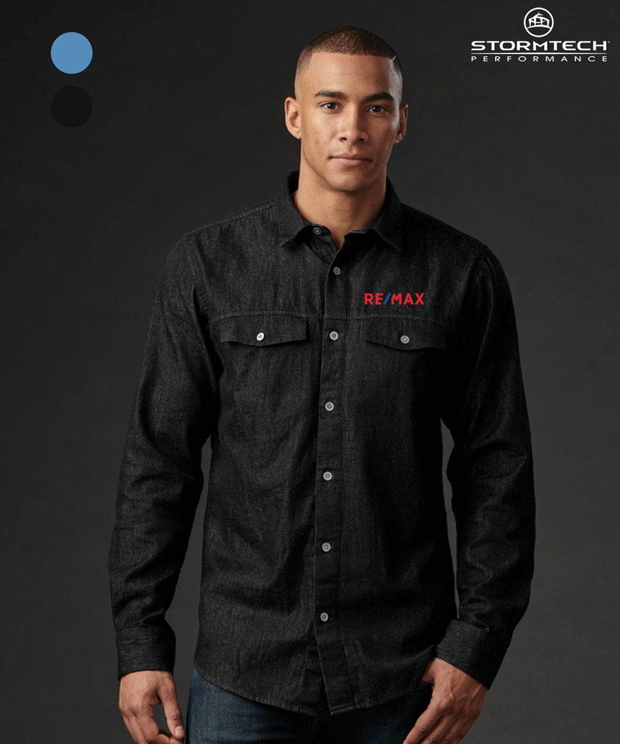 Men's Stormtech Blueridge Denim Shirt
