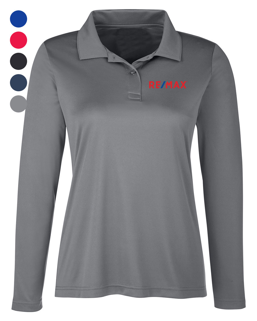 Ladies' Zone Performance Long Sleeve Polo