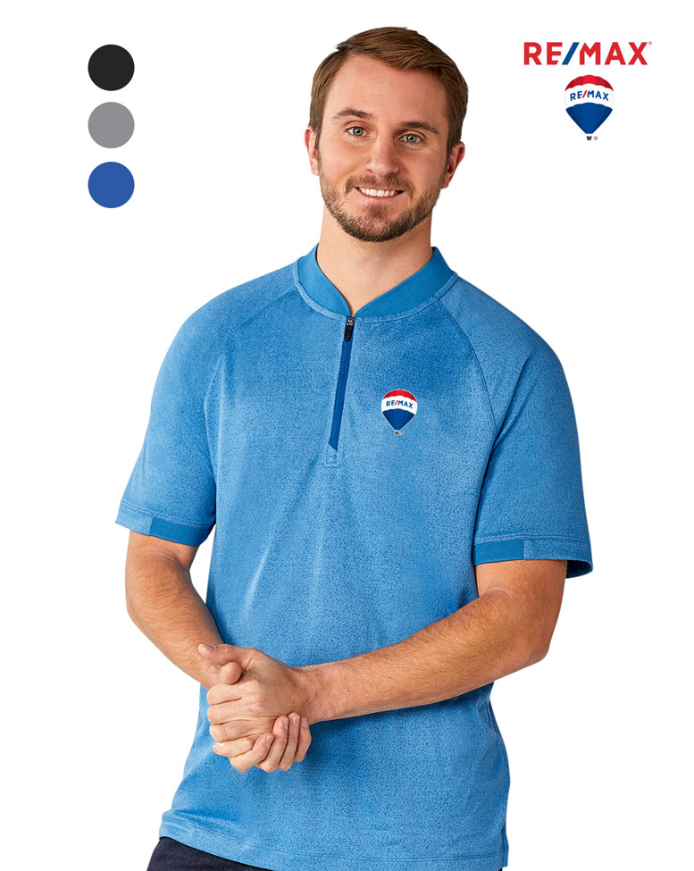 Men's KINPORT SS Stand Collar Polo