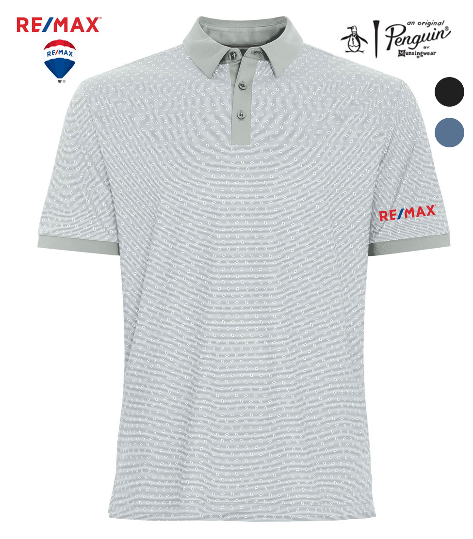 ORIGINAL PENGUIN ® GEOMETRIC POLO