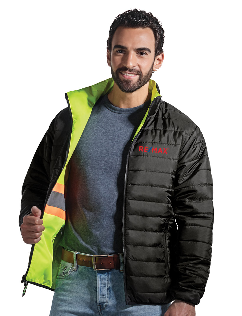 SAFEGUARD HI VIS REVERSIBLE JACKET