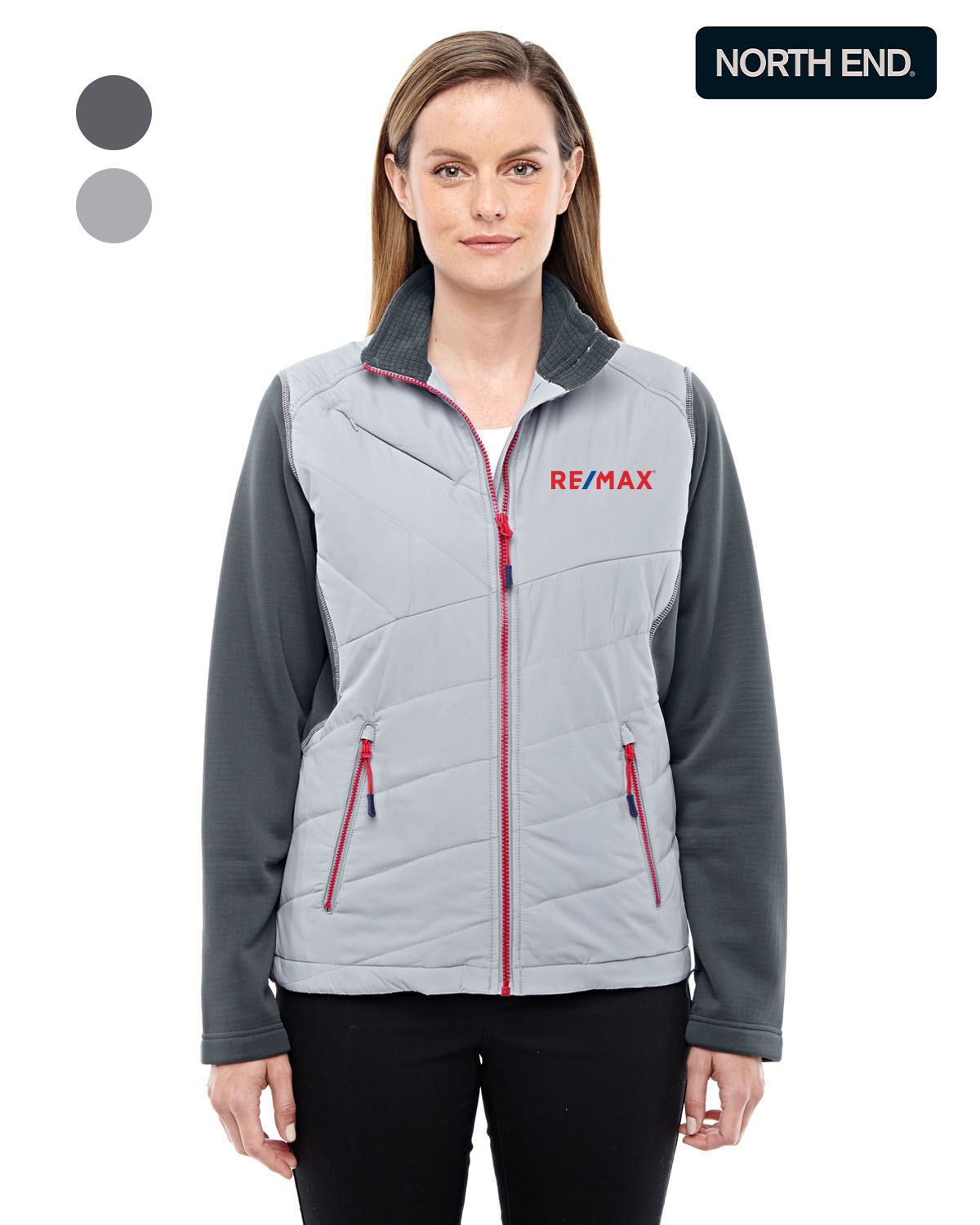 North End Ladies' Quantum Interactive Hybrid Insulated Jacket