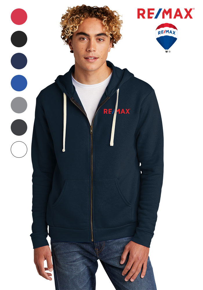 Unisex Beach Fleece Full-Zip Hoodie