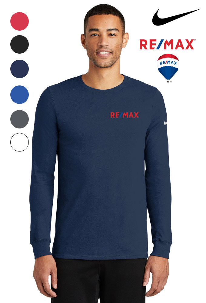 Nike Dri-FIT Cotton/Poly Long Sleeve T-Shirt