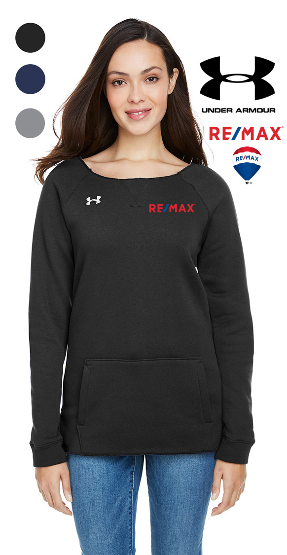 Under Armour Ladies' Hustle Crewneck Sweatshirt