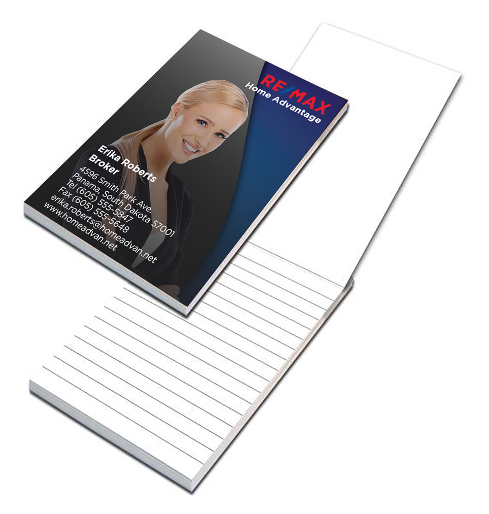 U-cover Notepad - 3-1/4