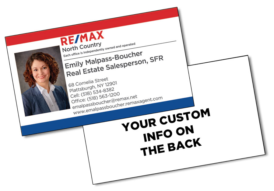 Quality Plastic Business Card - 3.5x2 (2-Sided) - Personalized