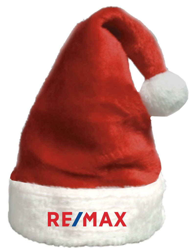 RE/MAX Super Plush Style Santa Hat