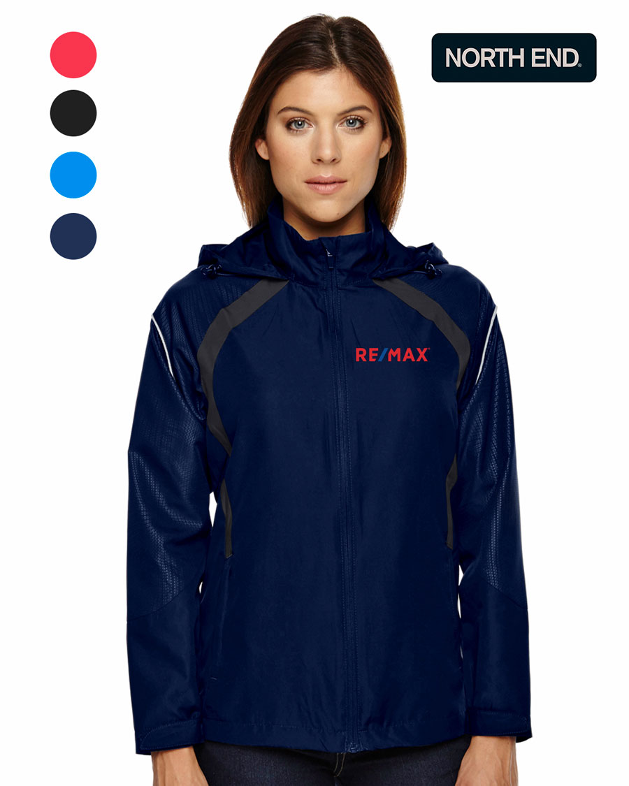 North End Sirius Ladies' Lightweight Jacket With Embossed Print