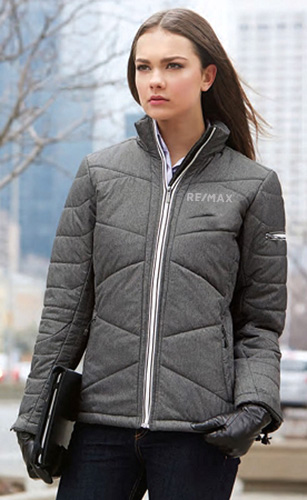 Ladies' Tech Mélange Insulated Jackets With Heat Reflect Technology