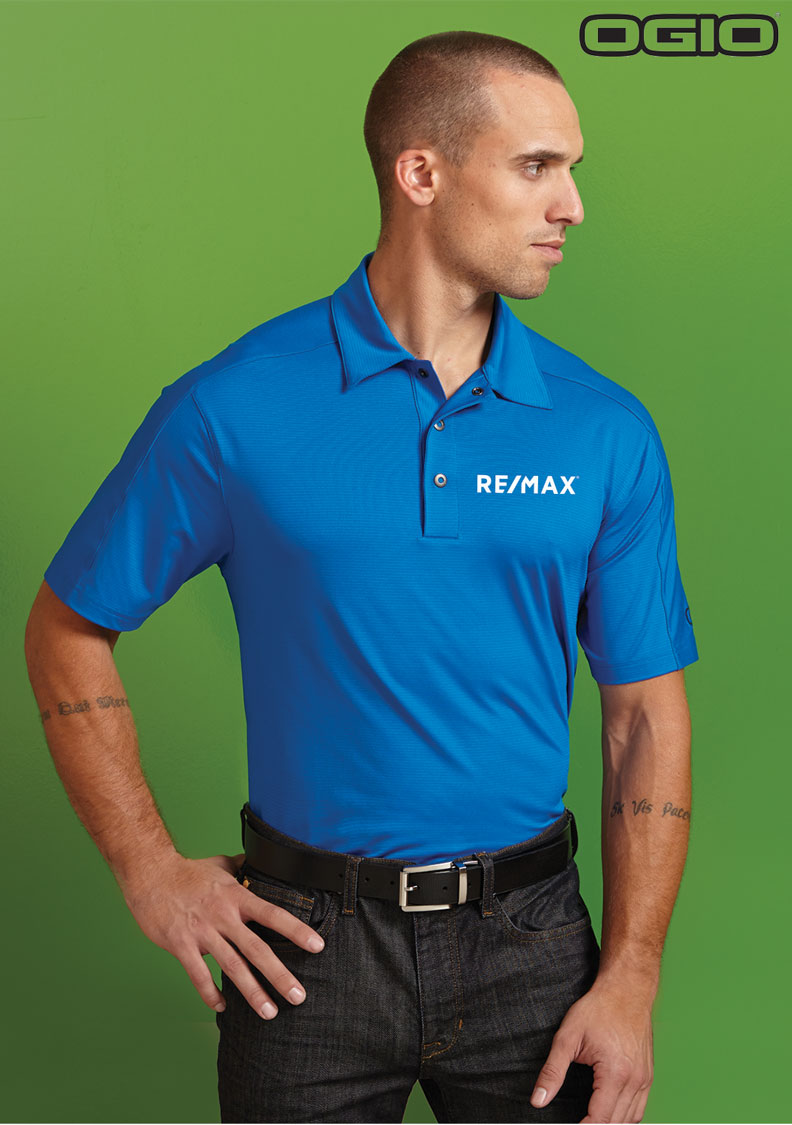 OGIO® Men's Gaze Linear Polo