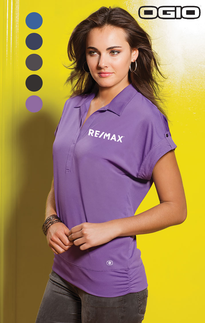 OGIO Microstrip Ladies' Polo