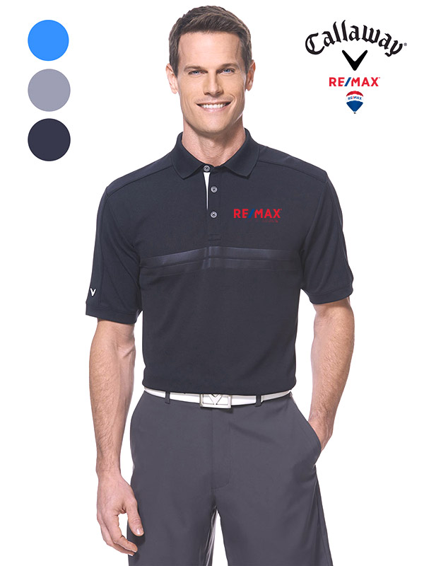 Men's Callaway Embossed Athletic Polo