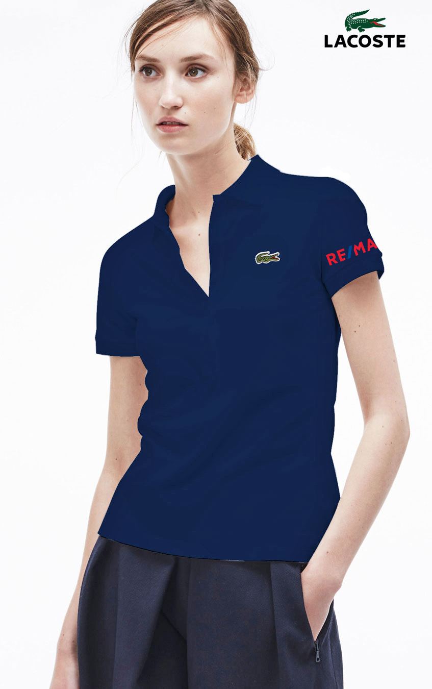 d7b3a6ff Lacoste Women's Slim Fit Stretch Polo