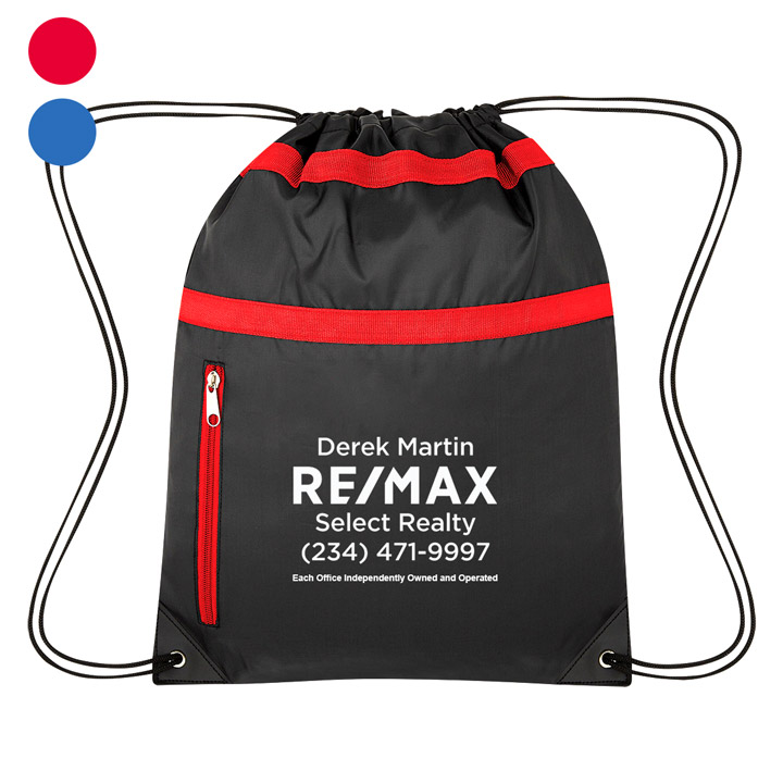 Trinity Drawstring Sports Pack - Personalized