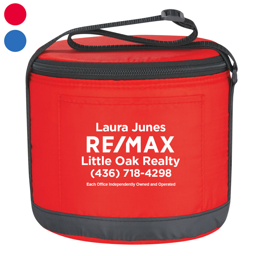 Cans-To-Go Round Kooler Bag - Personalized