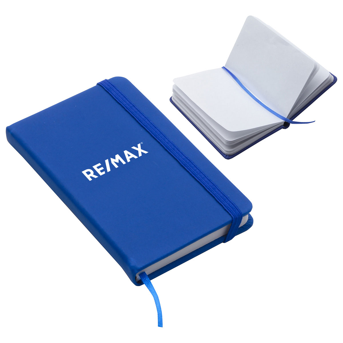 Recycled Pocket Journal Blue