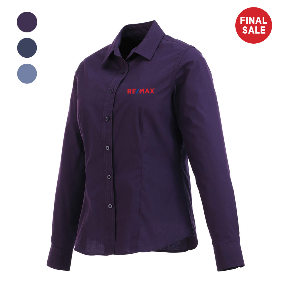 Ladies' PRESTON Long Sleeve Shirt - FINAL SALE