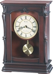 Bulova Abbeville Walnut Mantel Clock