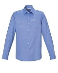 REFINE MEN'S WRINKLE FREE 2-PLY 80'S COTTON ROYAL OXFORD DOBBY TAPED SHIRTS