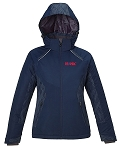 LINEAR LADIES' INSULATED JACKETS WITH PRINT